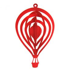 silhouette hot air balloon for mobile