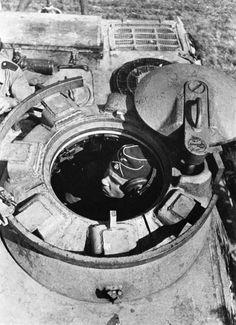 A Panzerkampfwagen V Panthers Cupola.