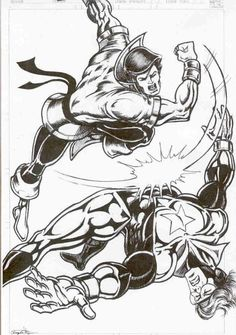 Karate Kid vs.Booster Gold