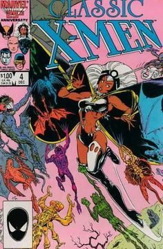 Classic X-Men # 4 by Arthur Adams & P. Craig Russell