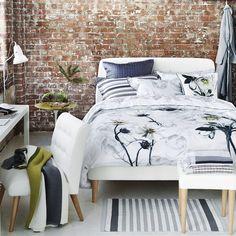 Pomander Dove Bed Linen | Designers Guild
