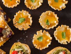 These tart-like, one-bite appetizers are perfect for parties.
