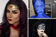 Amazing Female Superhero Makeup Tutorials