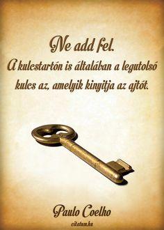 Ne add fel. A kulcstartón...