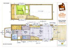 tiny granville Eric Davy - plans détaillés | par La Tiny House
