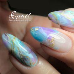 Get Nails, Hair And Nails, Magic Nails, Japanese Nail Art, Simple Nail Art Designs, Minimalist Nails, Nail Games, Round Nails, Glue On Nails