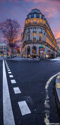 Quarter of the Opera, Paris, France