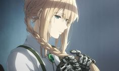 Funimation Opens Advance Tickets for KyoAni's 'Violet Evergarden' Movie: Funimation Films, the theatrical division… Akatsuki, Anime Manga, Anime Art, Violet Evergreen, Violet Evergarden Anime, Violet Garden, Lagann, Gurren, Kyoto Animation
