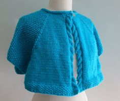 PDF Pattern 299 Traveler's Cape II Worsted by WomanOnTheWater