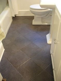Diamond (not square) tile