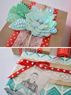 Beautifully wrapped gifts using the Wrap It Up and Pass the Tissue papers from Hazel & Ruby!