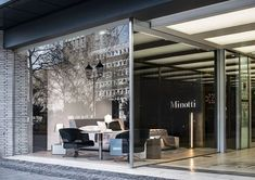 MINOTTI: The showroom window and a large part of the space at the showroom display Pesch ... http://www.davincilifestyle.com/minotti-the-showroom-window-and-a-large-part-of-the-space-at-the-showroom-display-pesch/   The showroom window and a large part of the display space at the showroom in Cologne Pesch – consistently a landmark destination for design enthusiasts – are dedicated to the presentation of the 2016 Collection, coordinated by Rodolfo Dordoni and sta