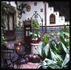 Courtyard in Toledo, Spain