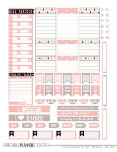 Free Almost Christmas Planner Stickers | Fit Life Creative