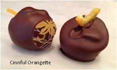Introducing our newest salted caramel, Cinnful Orangette!  Creamy cinnamon caramel studded with candied orange peel and speckled with fleur de sel, drenched in an amazing fusion of 40% milk chocolate (cacao Ecuador) and 72% dark chocolate (cacao Venezuela). Check it out!   http://luxxchocolat.com/caramelcrazyMAX12.aspx