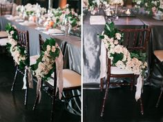 Gorgeous Chair Embellishment care of Mackenzie Powell Design.