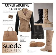"""""""Style Staple: Suede Boots"""" by cruzeirodotejo ❤ liked on Polyvore featuring Steve Madden, Balenciaga, Jigsaw and suedeboots"""