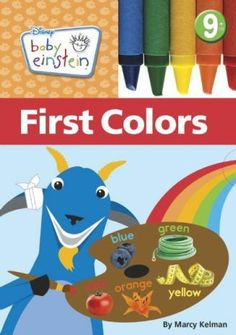 First Colors. Delivers five unique color-learning experiences for baby.