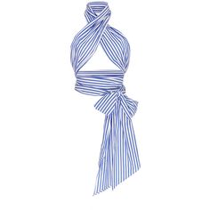MDS Stripes Erin Stripe Everything Scarf (190 CAD) ❤ liked on Polyvore featuring accessories, scarves, tops, oversized scarves, striped scarves, cotton scarves and cotton shawl