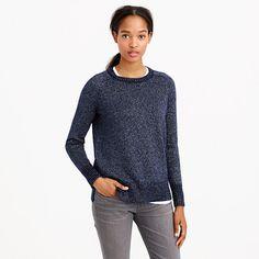 jcrew collection cashmere lurex sweater