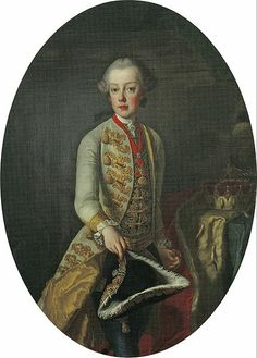 Brother of Marie Antoinette, Archduke Charles Joseph of Austria (1 February 1745 – 18 January 1761) was the second son of the Habsburg ruler Maria Theresa and her husband, Francis I, Holy Roman Emperor.