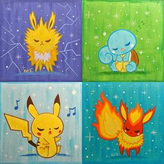 Pokemon art.
