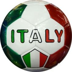 Sports: Italy has the second best football team in the world. In Italy football means soccer. They won the FAFI world cup. soccer is a big part of Italian sports. Soccer Gear, Soccer Ball, Italian Soccer Team, Italian Flag Colors, Cefalu Sicily, Italy Soccer, All About Italy, Best Football Team, Nike Football