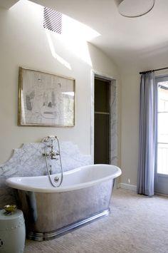Mediterranean Bathroom by Studio William Hefner