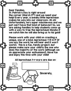 The Polka-dotted Teacher: Simple Machines and Leprechaun