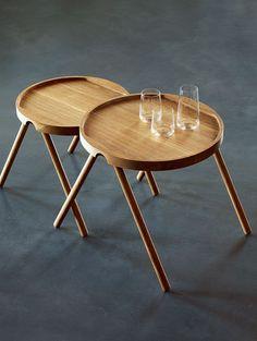 Beistelltisch Eiche geölt - stapelbar Design Tobias Grau Hersteller Auerberg