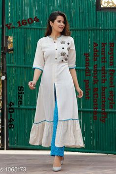 Simple Kurti Designs, Salwar Designs, Stylish Dress Designs, Kurta Designs Women, Kurti Designs Party Wear, Stylish Dresses, Kurti Sleeves Design, Kurta Neck Design, Sleeves Designs For Dresses