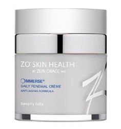 ZO Skin Health Ommerse Daily Renewal Creme #health Hyaluronic Acid: creates a barrier proven to lock in moisture.  Retinol: a pure derivative of Vitamin A and the most vital component of any anti-aging skincare program.  Photosomes: reduces the appearance of discolorations and inflammation, visibly improving skin's tone and overall skin health.
