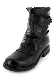 A.S.98 Kerniger Damen Boot aus Leder im Used-Look