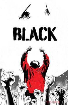 Black (2016 Black Mask) 6Black Mask Comics Modern Age comic book covers indy independent obsure