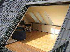 terrasse dans toiture r nos pinterest attic. Black Bedroom Furniture Sets. Home Design Ideas