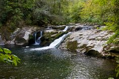 Lower Falls in Slickrock Area