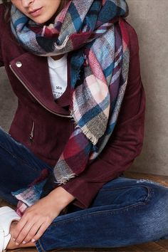 Wrap Up In A Blanket Scarf | sheerluxe.com