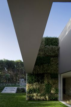 Green Wall - Quita Patino by FVArquitectos