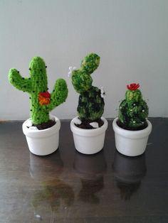 Cactos em crochê, Cactus crochet