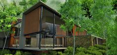 Presenting Mashpi Rainforest Biodiversity Reserve, a shiny new eco-hotel in the Andes that's home to the rain forest's first elevated cable car system, opening April 15 in Ecuador.