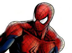 Spider-Man on iPad by John Hoang