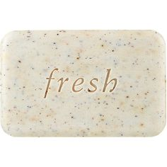Fresh Seaberry Exfoliating Soap (€15) ❤ liked on Polyvore featuring beauty products, bath & body products, body cleansers, fillers, beauty, makeup, soap and cosmetics