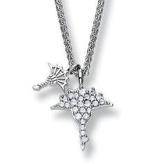Joop! Ladies Necklace + Cornflower Pendant Penelope JPNL90491A Silver
