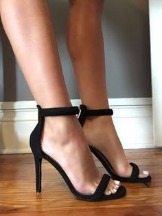 Top Priority Black Heels - impromptu boutique