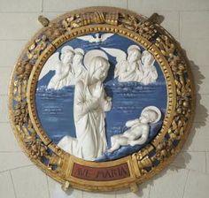 The Pushkin Museum of Fine Arts | Andrea della Robbia | The Virgin adoring the Infant Christ