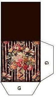Small Stuff's PrintMini: Printable Dollhouse Miniatures & Printies - Hat Box Bottom