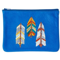 wingtips pouch: cobalt via Coral and Tusk LOVE!!
