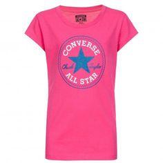Converse Mädchen T-Shirt 1700 Paper Pink