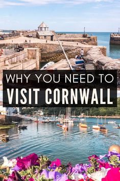 Here's why you need to visit Cornwall on your next England adventure. How to visit the country of Cornwall and what to do once there; see historic harbour towns, stay in cute pubs, and more! Cornwall England, Yorkshire England, Yorkshire Dales, Scotland Travel, Highlands Scotland, Skye Scotland, Scotland Culture, Oxford England, London England