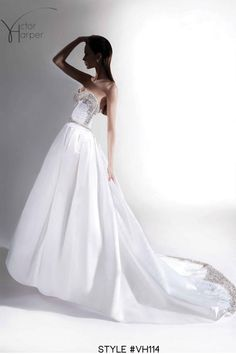 Victor Harper Collection fall 2012 wedding gown, style #VH114
